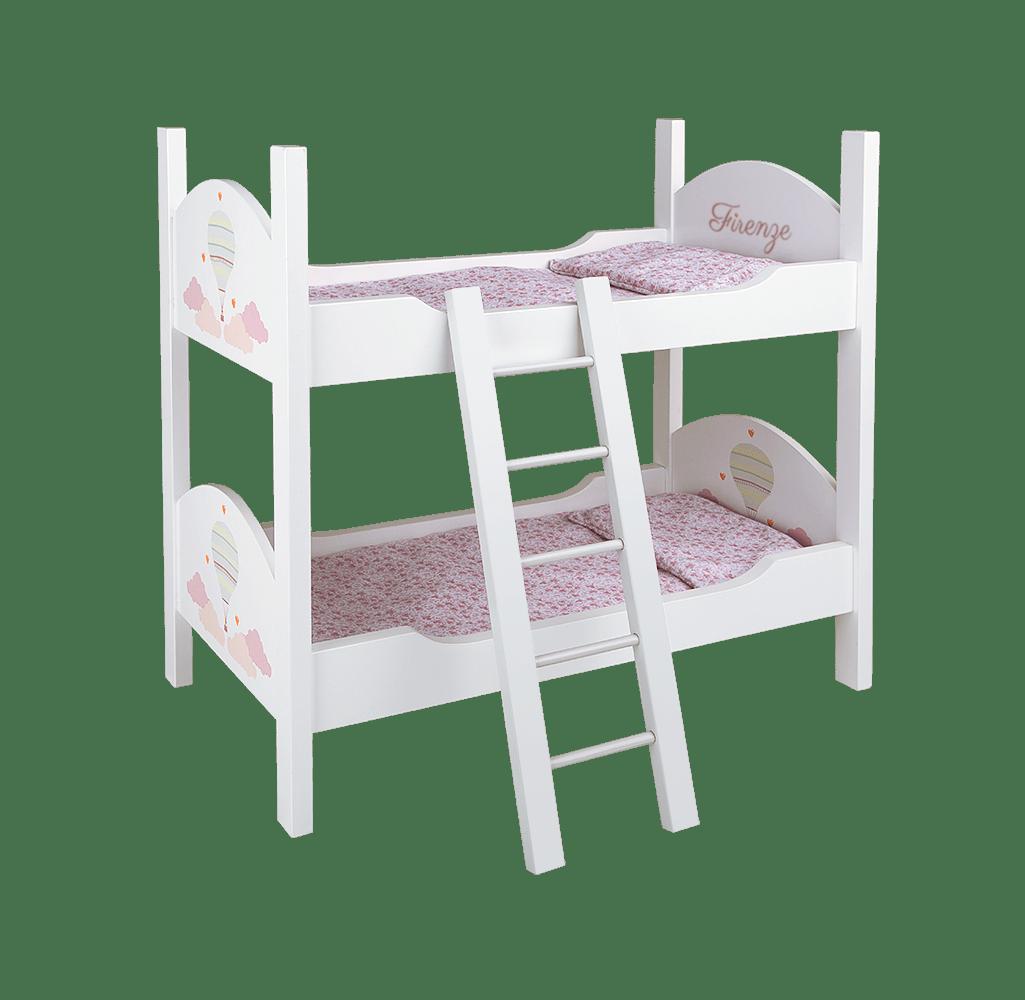 cama litera para muñecas