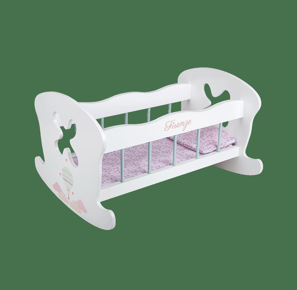 cama balancín para muñeca