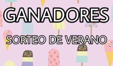 GANADORES DEL SORTEO DE VERANO
