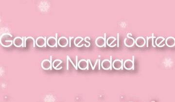 GANADORES SORTEO DE NAVIDAD