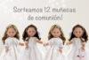 sorteo 12 muñecas arias comunion