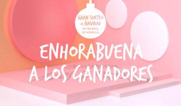 GANADORES DEL GRAN SORTEO DE NAVIDAD 2017