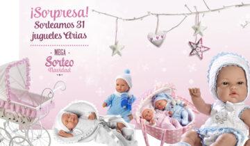 Mega-sorteo de Navidad de Muñecas Arias 2016